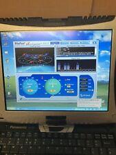 FULLY LOADED PANASONIC TOUGHBOOK CF-18 GPS SAT NAV TABLET LAPTOP GRADE A WIN XP