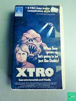 Xtro (VHS, Thorn EMI, 1983) - Rare Horror Tape