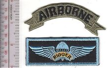 Philippines Air Force PAF Parachutist Rigger Wings & Airborne Tab
