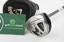 LEFT HAND CALLAWAY FT FUSION #3 HYBRID / 21 DEGREE / STIFF FIT-ON / CAHLEF007
