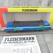 FLEISCHMANN 432301 - HO - E-Lok NIAG Re 481 004-0 - m. DSS - OVP - #AA27094