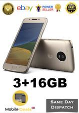 Brand New Motorola Moto G5 16GB Fine Gold Dual Sim 3GB RAM 4G Smartphone Unlock