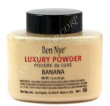 Ben Nye Banana Luxury Powder 1.5 oz BV-1 Face Makeup Kim Kardashian Authentic