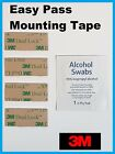 4 Strips EZ Pass Tape IPass SunPass Mounting Kit 3M Dual Lock