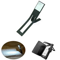Black Flexible Folding LED Clip On Reading Book Light Lamp For Reader Kindle New