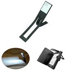 Hot Black Flexible Folding LED Clip On Reading Book Light Lamp For Reader Kindle