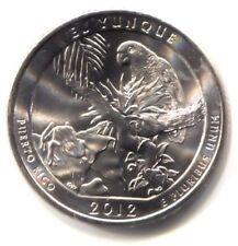 El Yunque Puerto Rico Commemorative U.S. Quarter 2012 D Coin - Denver Mint