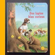 Regarde et cherche DES LAPINS BIEN CURIEUX Bob Bampton 1997