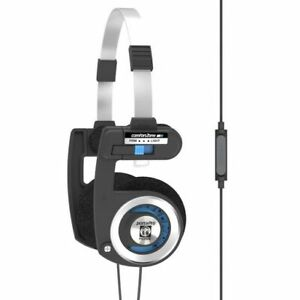 Porta Pro with One Touch In-line Microphone And Remote Control 60 ohm Black