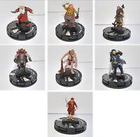 The Hobbit HeroClix Miniatures Balin Dwalin Bombur Thorin    (Lord of the Rings)