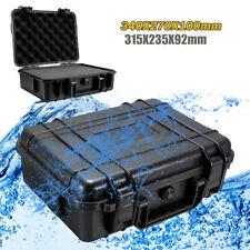 Wasserfester Werkzeugkoffer Tasche Aufbewahrungsbox Kamera Fotografie & Schwamm!
