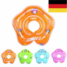 Baby Sicherheit Doppelairbag Schwimmhilfe Hals Babyschwimmring Schwimmkragen Neu