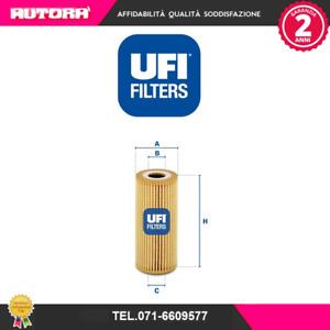 2506700 Filtro olio (MARCA UFI)