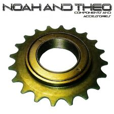 "N&T 20T 34mm 1/2"" x 1/8"" Brown BMX Freewheel Bicycle Single Speed Cog Sprocket"