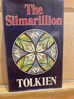 The Silmarillion, J.R.R Tolkien, 1977 1st/1st, George Allen & Unwin w/misprints