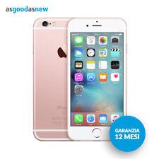 Apple iPhone 6s 16GB Oro rosa - Originale - Garanzia 12 mesi - Ricondizionato