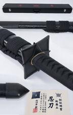 Shintogo Shinobi Straight Ninja Sword 9260 Spring Steel sharp