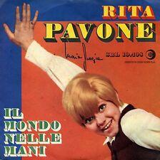 """RITA PAVONE IL MONDO NELLE MANI  IL BALLO DELL'ORSO EX 7"""" ITALY"""