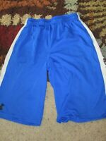 Men's Under Armour Heat Gear Loose Basketball Shorts Youth YLG~ YOUTH LARGE
