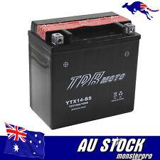 YTX14-BS 12V 12AH AGM BATTERY HONDA ATV QUAD BIKE TRX 300/350/400/420/450/650 TD