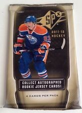 2011-12 Upper Deck SPx Hockey HOBBY Pack Rookie Jersey Patch Auto?