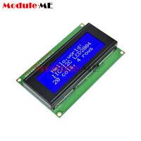 2004 LCD Display Module 204 20x4 Character Blue Blacklight HD44780 Controller 5V