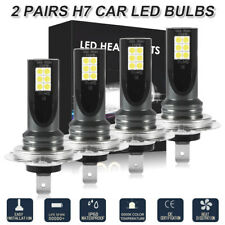 4x H7 200W LED Headlight Bulb Globe Kit for Hyundai Elantra i30 Tucson LD2173