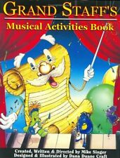 """GRAND STAFF'S MUSICAL ACTIVITIES BOOK"" MUSIC BOOK BRAND NEW RARE ON SALE!!"