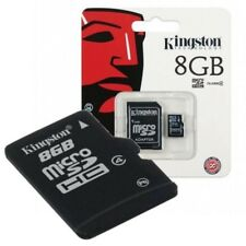 Kingston 8GB Micro SD SDHC SDXC Class 4 Memory Card TF with Adapter