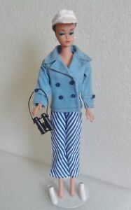 VINTAGE BARBIE MADDIE MOD CLONE YACHTING #1726 COAT PANTS HAT BOOTS ~VERY NICE