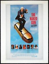 THE NAKED GUN 1988 FILM MOVIE POSTER PAGE . LESLIE NIELSEN . E49