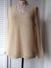 Olsen mohair lace knit jumper 18 BNNT