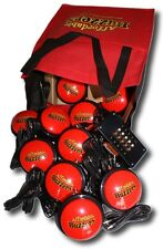 10-Player BIG DADDY™ Table-Top Quiz Game Buzzer System with 10ft. wires