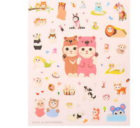 8 Sheets Cute Cat Album Scrapbook Calendar Diary Planner Stickers Decoration FO