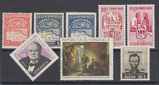 Venezuela Sc C6/C930 MLH/MNH. 1930-66 air mail issues, 8 different, VF group