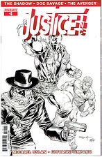 JUSTICE INC #4 SYAF B&W 1:15 INCENTIVE VARIANT COVER