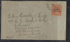 PAPUA COVER (P2312B) 1922 NWPI 2D KGV ON COVER FROM NEW BRITAIN TO AUSTRALIA
