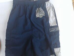 Harry Potter Shorts Trunks Gryffindor Boys SIZE LARGE ( 14-16) Navy/White