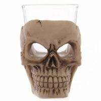 Gruesome Skull Shot Glass - Gothic Pagan Occult Mystic