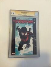 Stan Lee Signed Marvel Comic Book 9.6 CGC SignatureSeries Ultimate Spider-Man #1