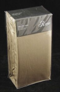 """Pack of 2 Egyptian Cotton Sateen Fully Elasticated Fitted Sheets 12"""" Deep 400TC"""