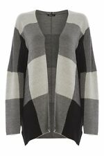 Women's Striped Viscose None Hip Length Jumpers & Cardigans