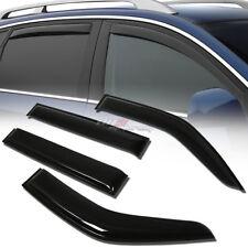 FOR 97-04 MIT MONTERO 4DR SMOKE TINT WINDOW VISOR SHADE/VENT WIND/RAIN DEFLECTOR