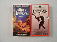 2 Steve Martin Movies On 2 VHS Tapes :The Out-Of-Towners /Roxanne