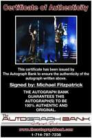 Fitz and The Tantrums Michael Fitzpatrick signed 8x10 photo |CERT  A00010a