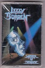 LIZZY BORDEN - Master of Disguise (1989, Metal Blade) Cassette NEW