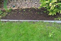 20 Stk. Rasenkante Metall 118 x 12,2 cm inkl. Schrauben Kanteneinfassung