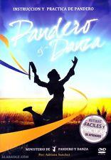 DVD Instruccion y Practica de Pandero y Danza Coreografias - Musica Cristiana