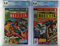 Eternals #3 and #4 1976 CGC 9.8/4 WP 1st & 2nd Appearance Sersi, Movie 11-5-2021