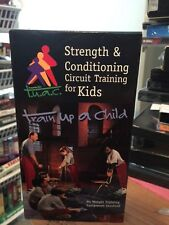 Strength & Conditioning Circuit Training for Kids - Train Up A Child VHS RARE